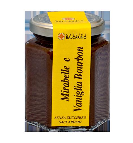 Confettura senza zucchero di Mirabelle e Vaniglia Bourbon