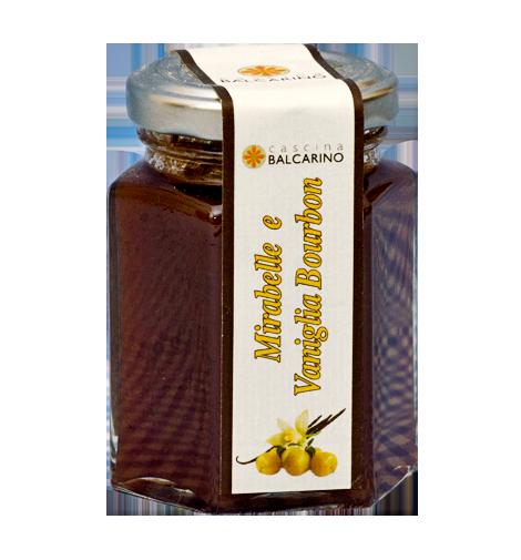 Confettura di Mirabelle e Vaniglia Bourbon