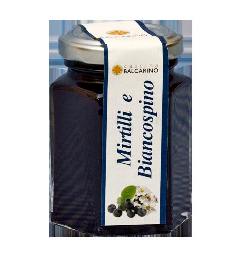 Confettura di Mirtilli e Biancospino