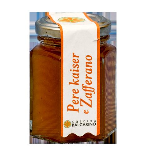 Confettura di Pere Kaiser e Zafferano