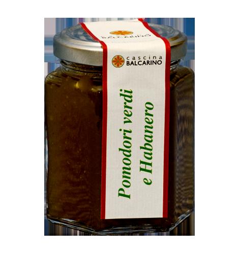 Confettura di Pomodori Verdi e Habanero