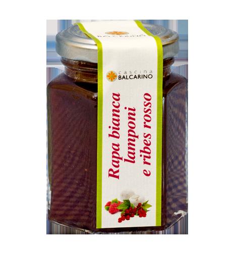 Confettura di Rapa Bianca, Lamponi e Ribes Rosso