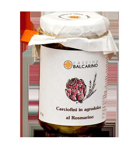 Carciofi in Agrodolce e Rosmarino