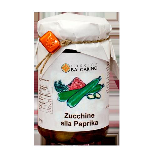 Zucchine alla Paprika